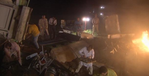 Dva týdny po nehodě byla vyzvednuta příď saudského stroje. Stejně jako většina důkazů, ani tyto nové nijak nepřispěly k objasnění příčin nehody. Vše bylo zničeno silou nárazu.