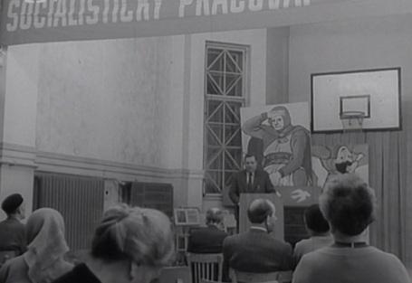 Na přednášce ostatním vysvětlil, v čem je socialismus nejlepší