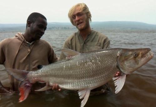 :P Mřenka to rozhodně není, milá Nelo, a asi musí mít takový zuby, když loví :lol: v Kongu!
