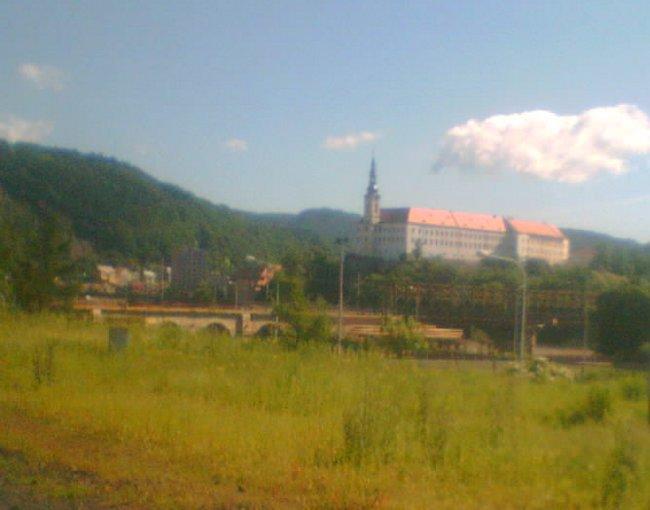 A já musím přesednout na vlak do Ústí nad Labem