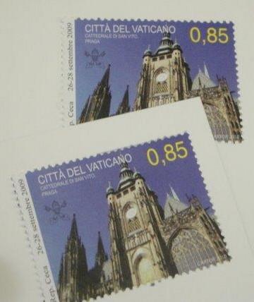 Známka z Vatikánu