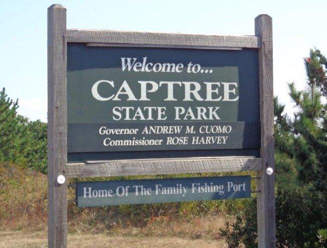 A jsme v Captree