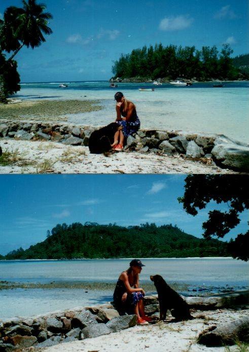 Na pobřeží Indického oceánu