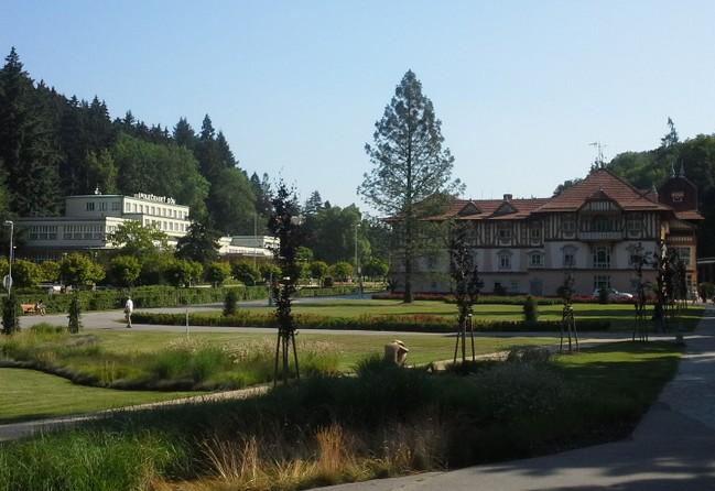 Park k lázeňskému náměstí